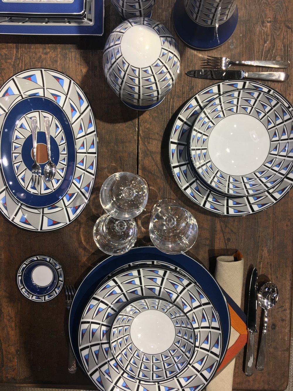 Chic tableware at Richard Ginori.
