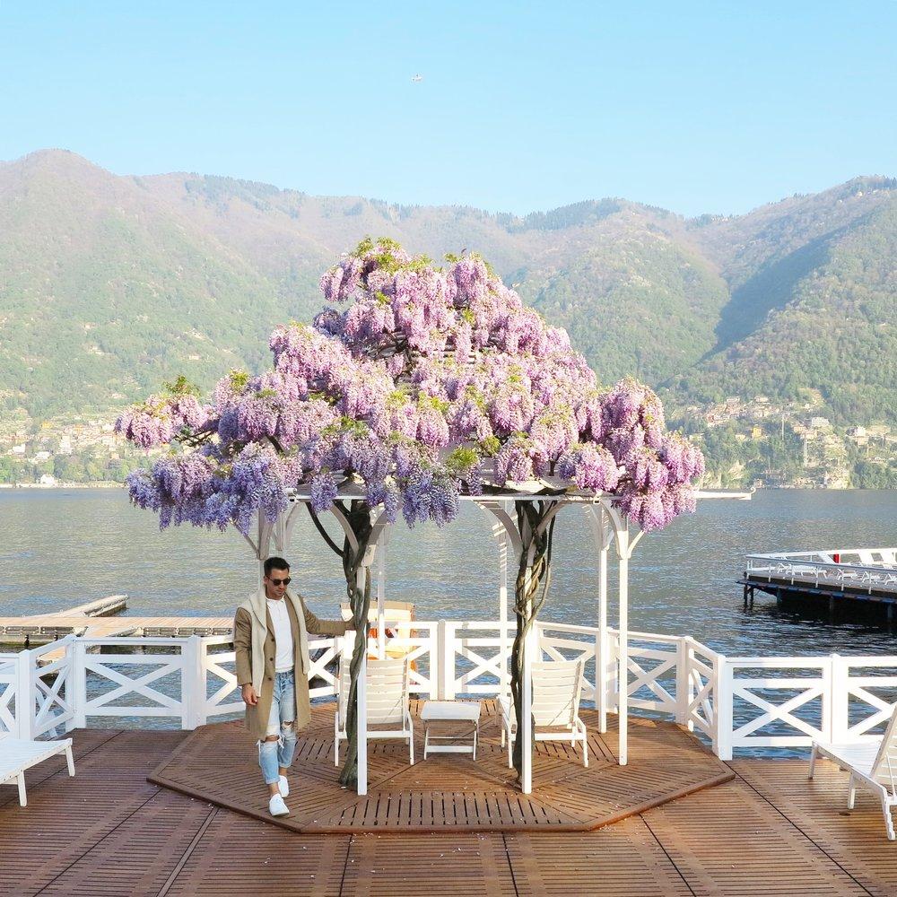 Villa D'Este Lake Como.