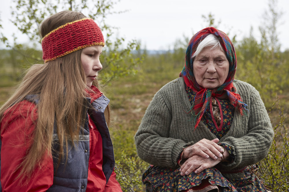 Aile and Grandmother (2015), Silja Somby, 12 min