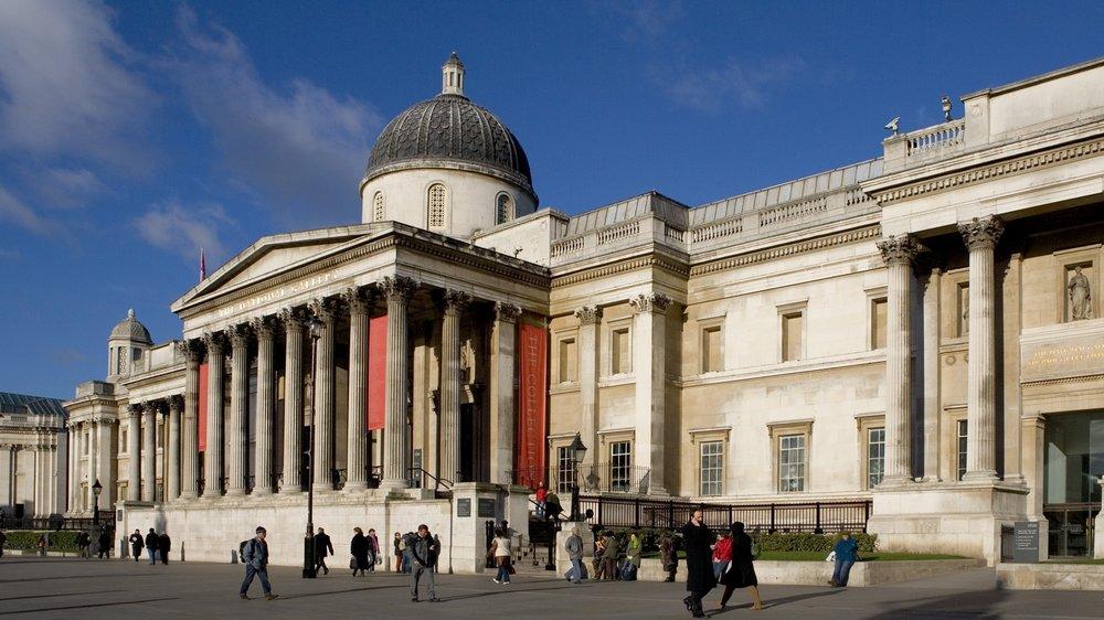伦敦国家美术馆完美特展