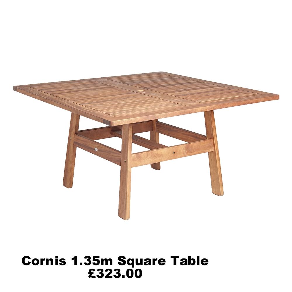 1.35M Square Table- £323