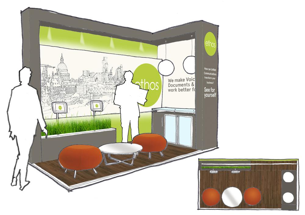 ethos exhibition stand