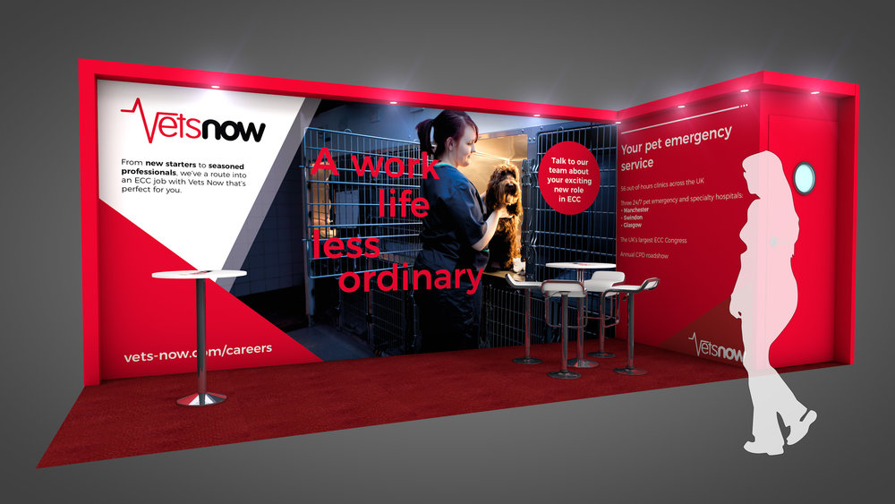 Vets Now Exhibition Stand at BSAVA Congress