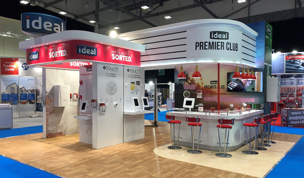 Ideal Boilers Exhibition Stand