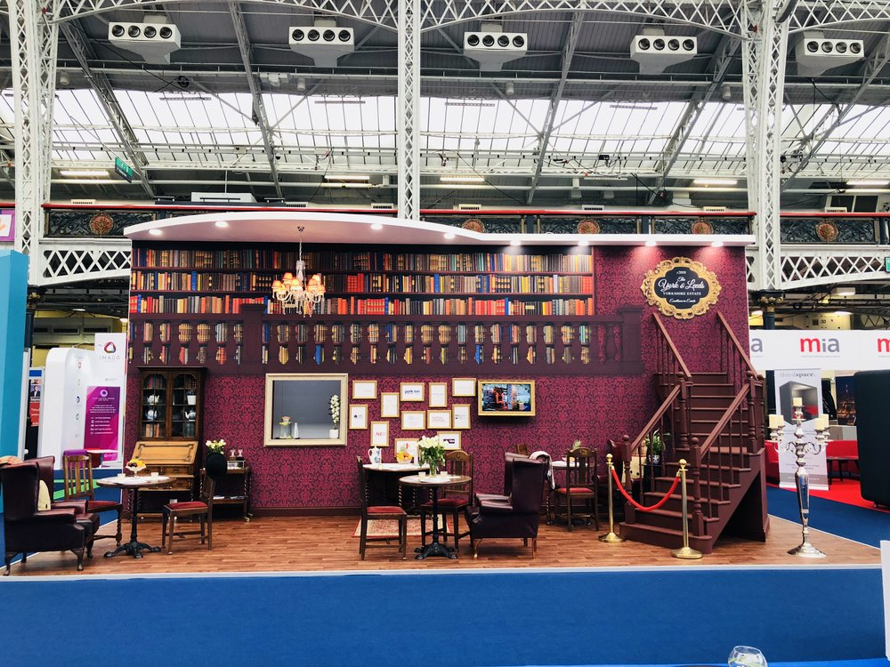 Leeds and York exhibition stand at The Meetings Show 2018