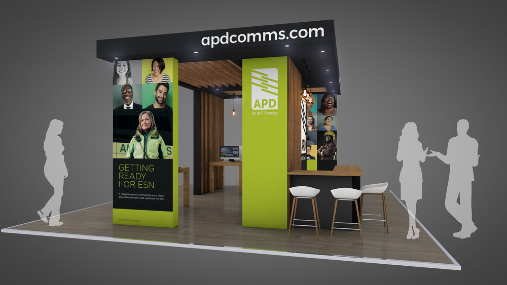 APD Communications at BAPCO Exhibition Stand