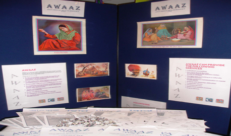 AWAAZ display stand