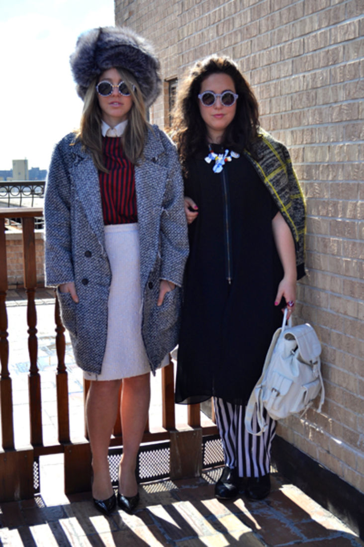 Simi Polonsky and Chaya Chanin of Frock Swap