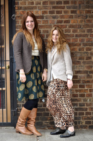 Mimi Hecht and Mushky Notik of MiMu Maxi