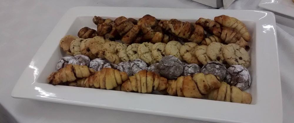 There were plenty homemade baked treats to enjoy!