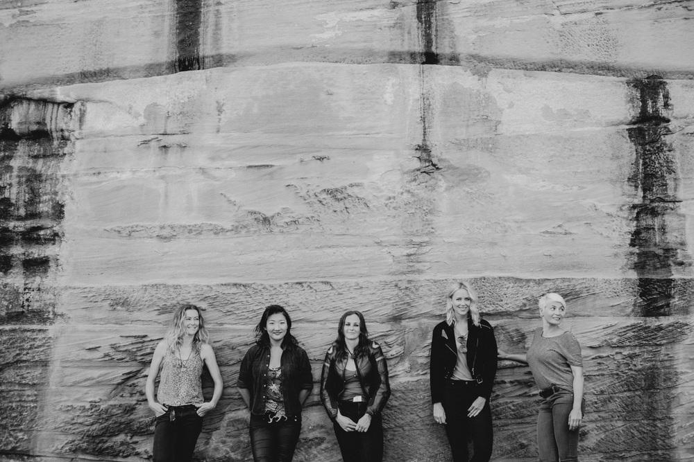 IVV petrolettes - summer 2014-2015 From left: Juls, zaya, vicky, maria & carina
