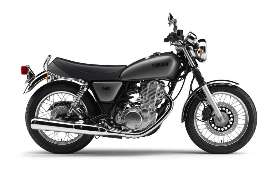 Yamaha SR400 stockImage source:Yamaha