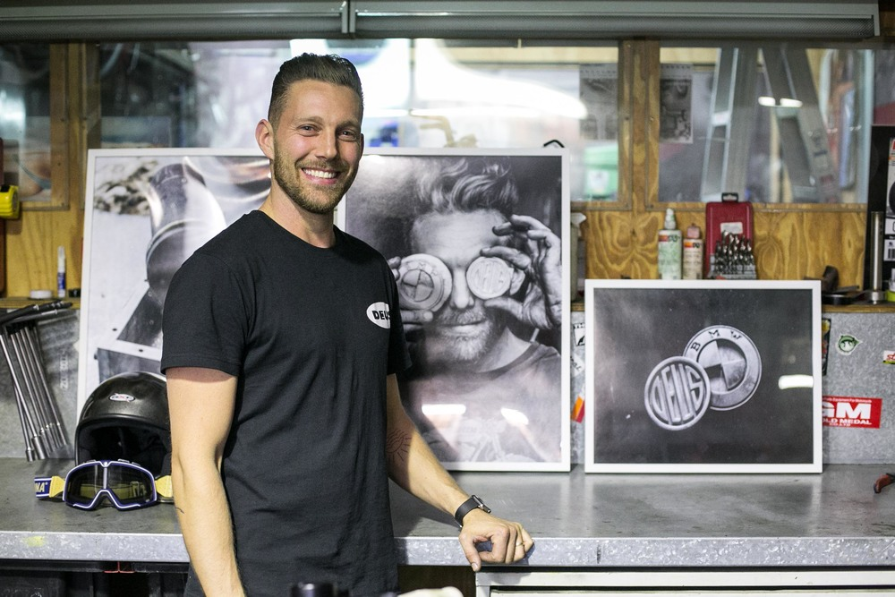 Jeremy Tagand at Deus Ex Machina, Sydney