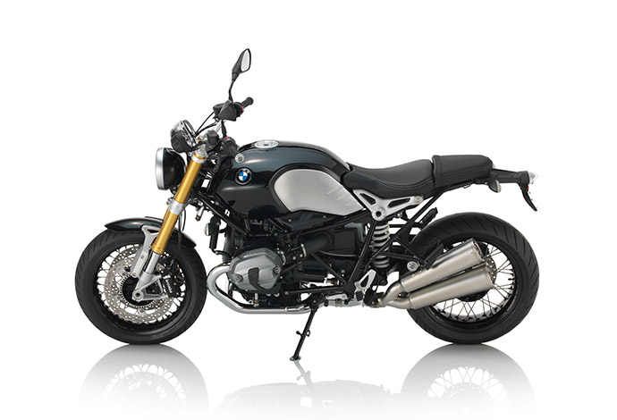 Image of stock version of the R nineT:  bmw motorrad