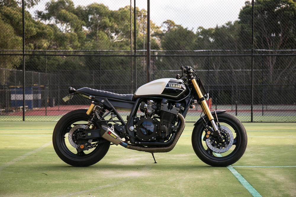 Custom Yamaha Xjr1300 By Rb Racing In Venus Veritas