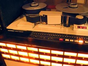 Geluidsstudio | Opnamestudio | Muziekstudio | Studio Spitsbergen - Ampex MM1200 tape recorder