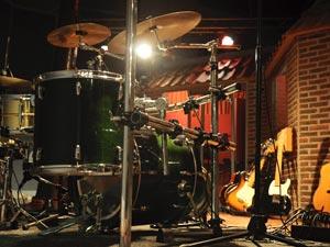 Geluidsstudio | Opnamestudio | Muziekstudio | Studio Spitsbergen - Pearl master custom studio drumkit