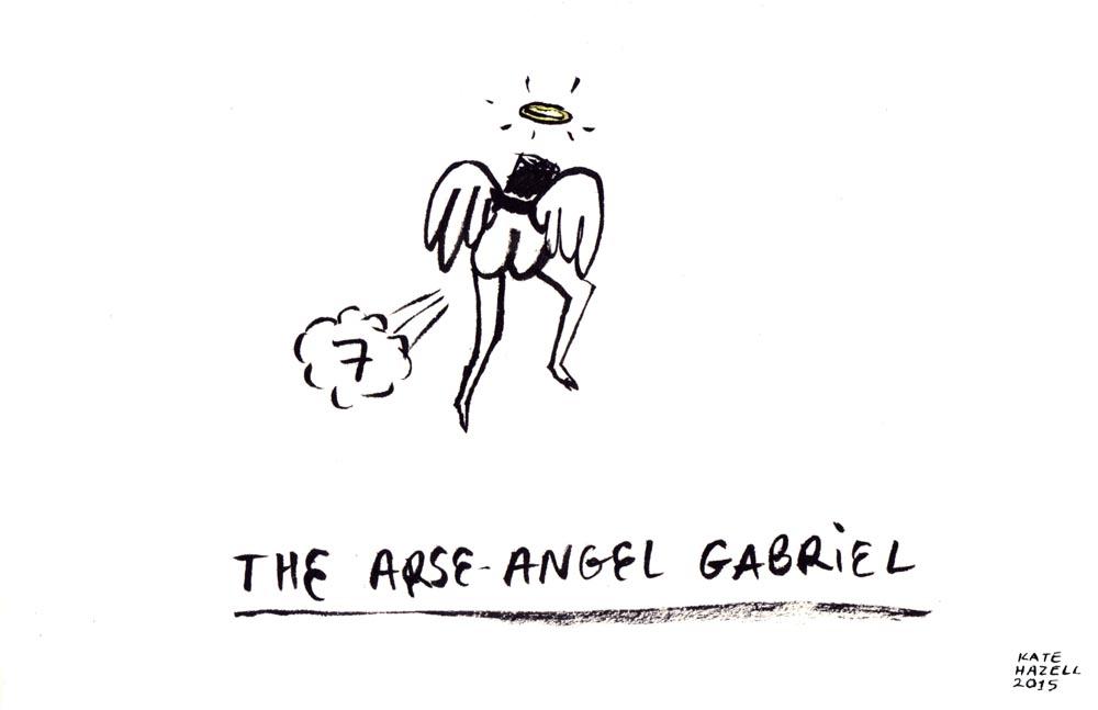7.ARSE ANGEL_KATE HAZELL_BADVENT 2015.jpg