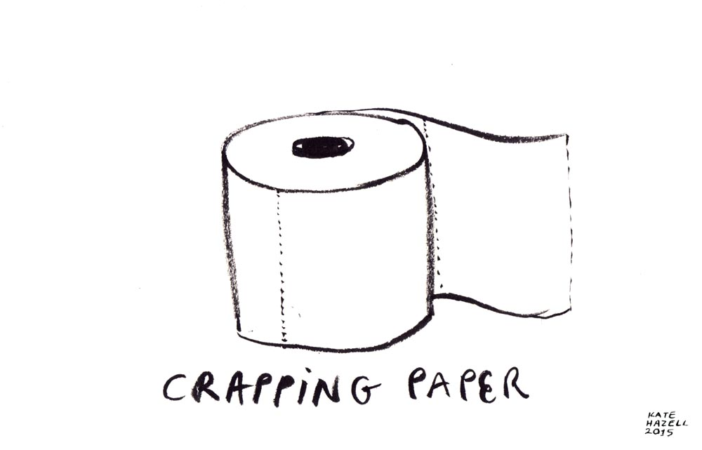 11.Crapping paper_KATE HAZELL_BADVENT 2015.jpg