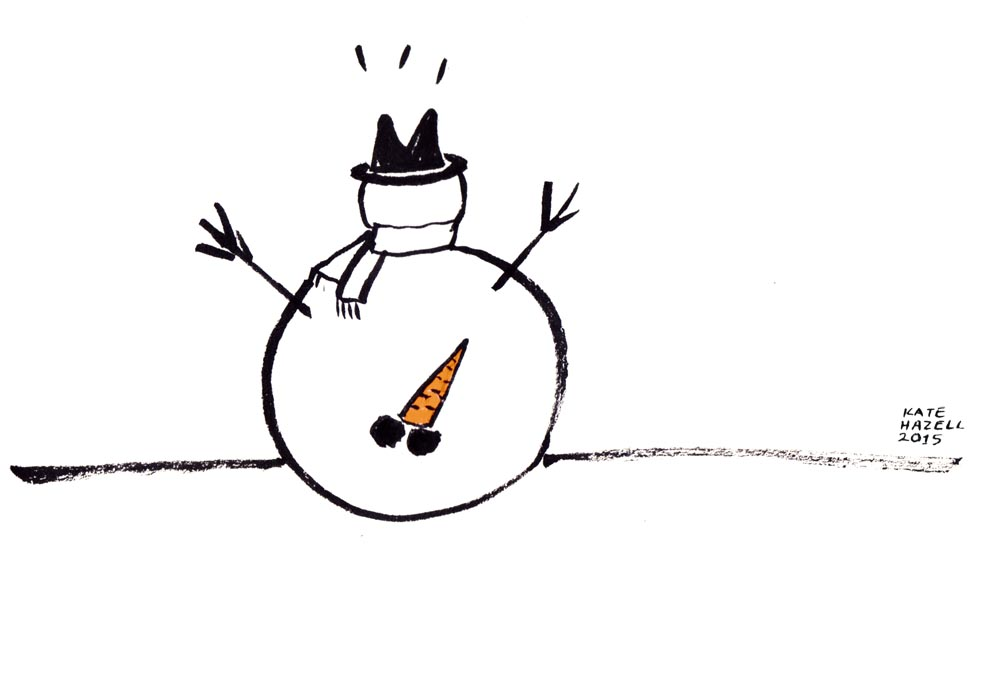 20.Snow man_KATE HAZELL_BADVENT 2015.jpg