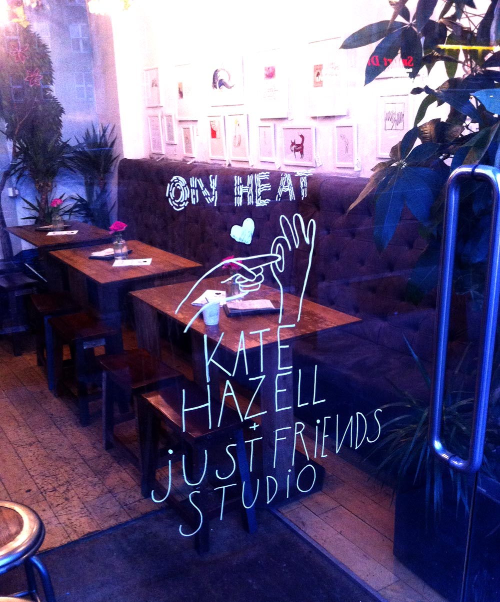 On Heat - Love's Company window