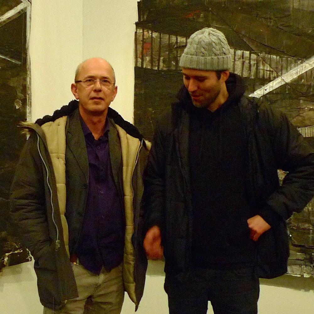 Wilco Tuinebreijer en Aldo van den Broek