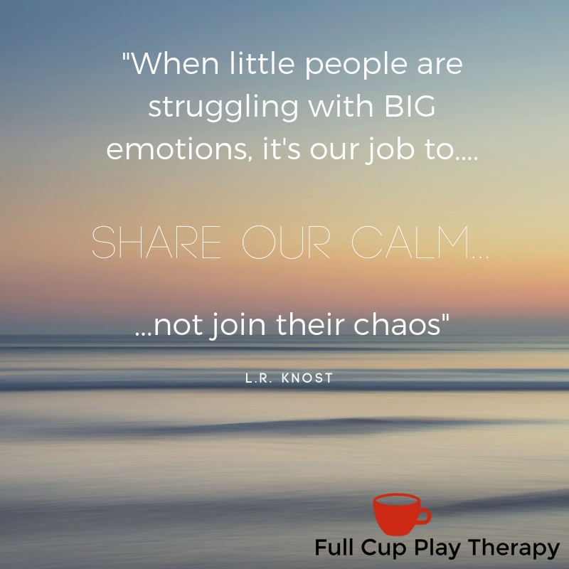share your calm not your chaos