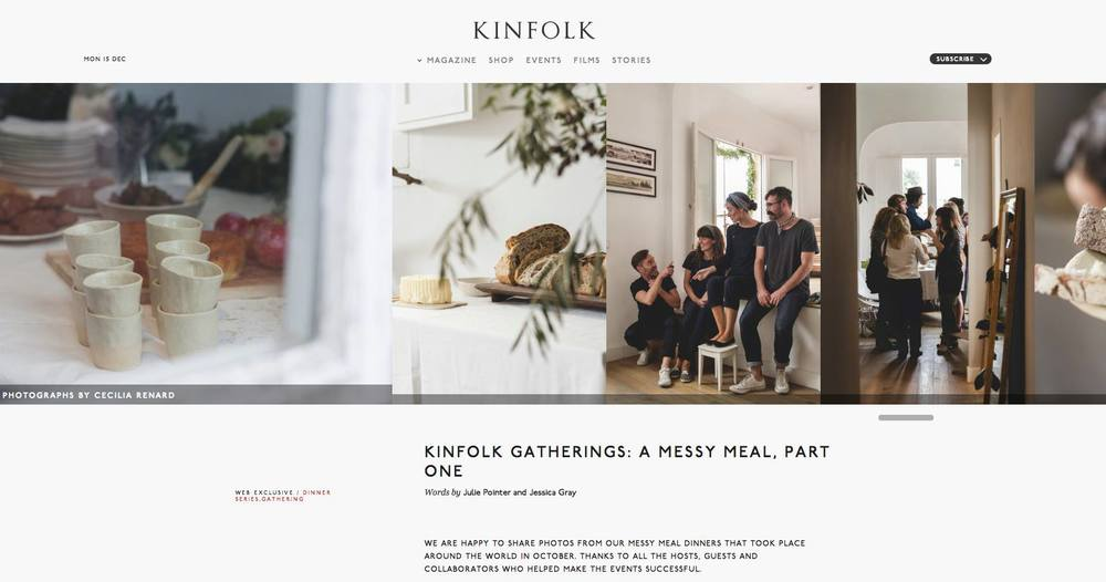 Kinfolk Madrid 2014