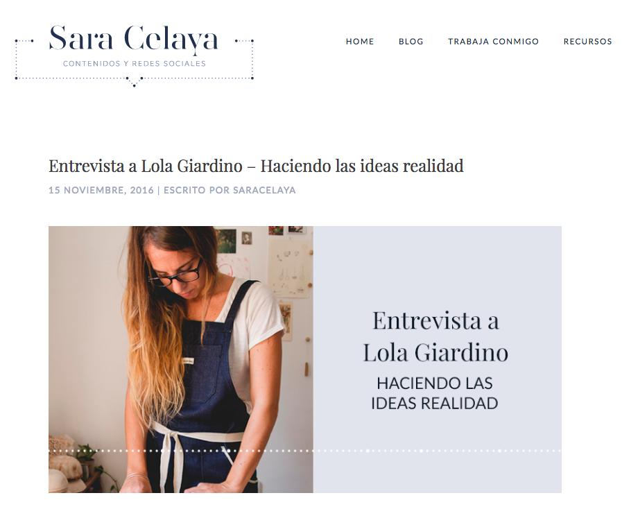 Sara Celaya