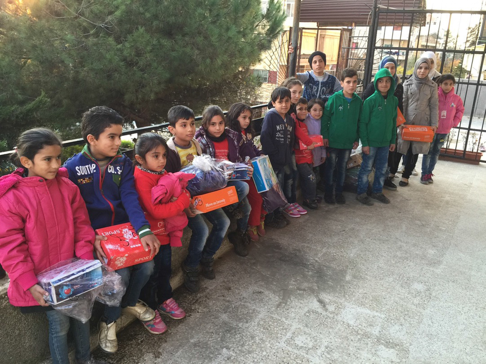 Over 600 children received boots and coats! Thank you!