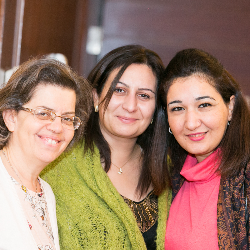 TRAUMA COUNSELING     Several times a year we provide Trauma Training for those who work with refugees. Sometimes refugees themselves have become the volunteers. One group of women who had lost their husbands to ISIS formed a support group. After going through our training they were better able to help guide their fellow widows through the grieving process.