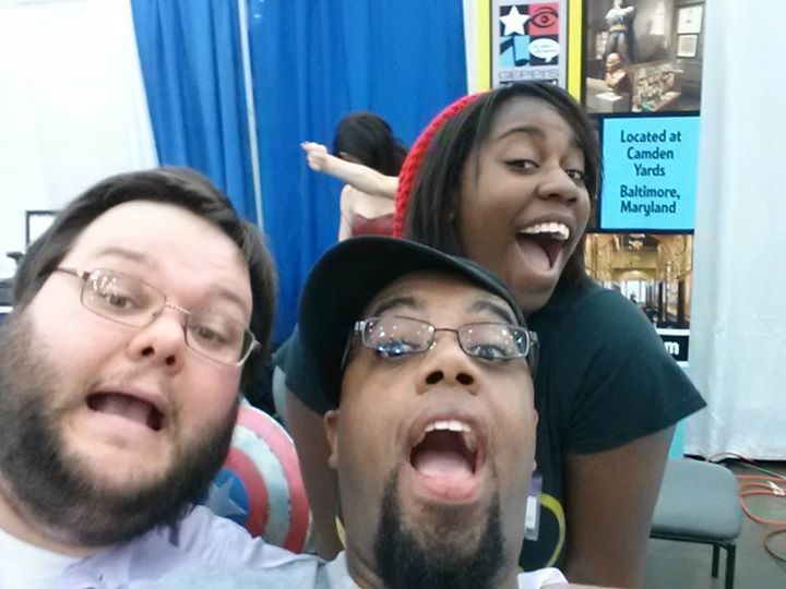 Baltimore Comic-con w/ Geppi's