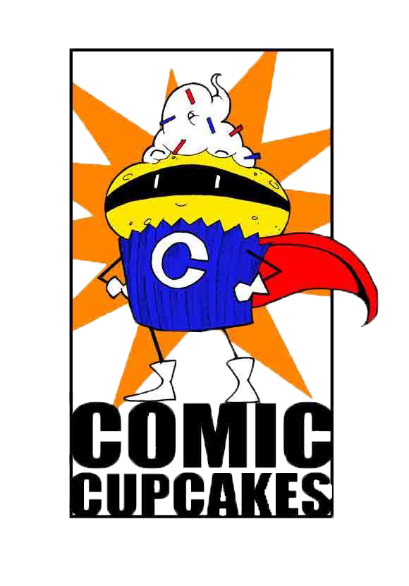 Comic Cupcakes - merging sweets and superheroes