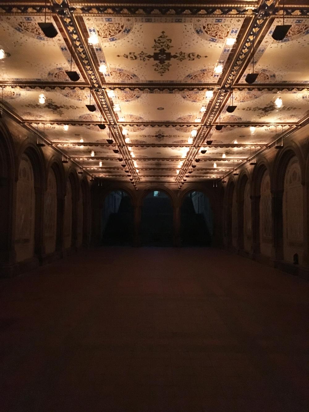 The Bethesda Terrace Arcade