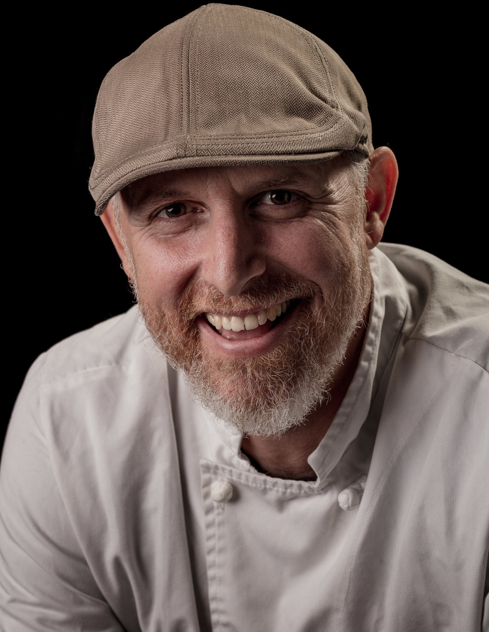 Steve Duke - chef & owner of  No Fixed Address catering . Formerly of Vancouver, now supporting Cape Town productions & an Obz street food restaurant.