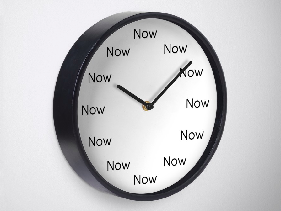 """""""Now Now"""" """"Just Now"""" - Wait... when?!"""