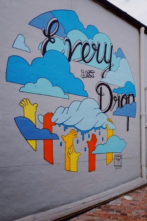cape town water wise mural