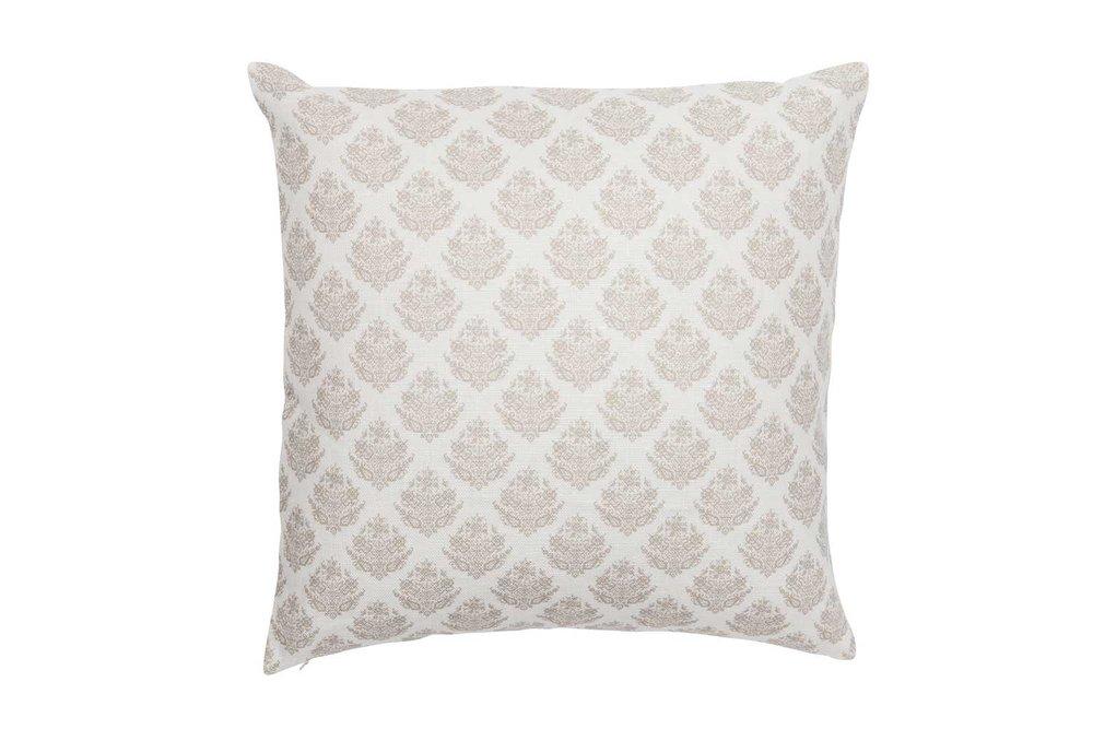 Abbot Atlas dixos sand fabric linen printed pillow cushion