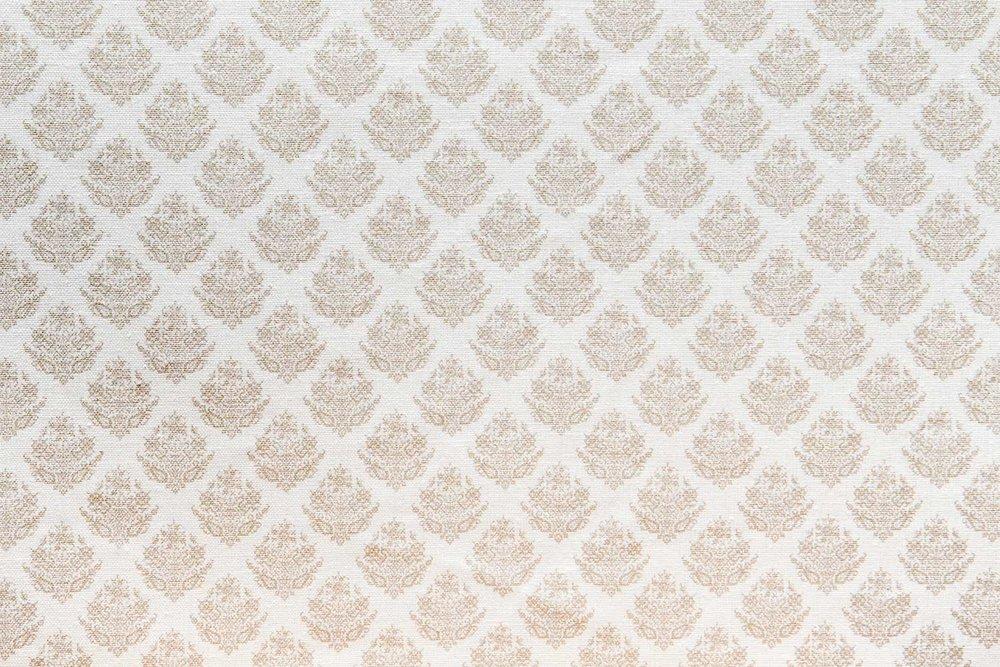Abbot Atlas dixos sand fabric linen printed