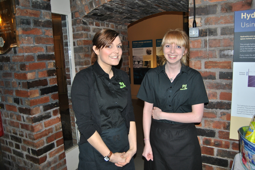 Exceptional service staff