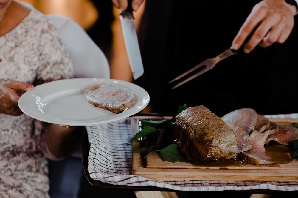 Spit roast meats