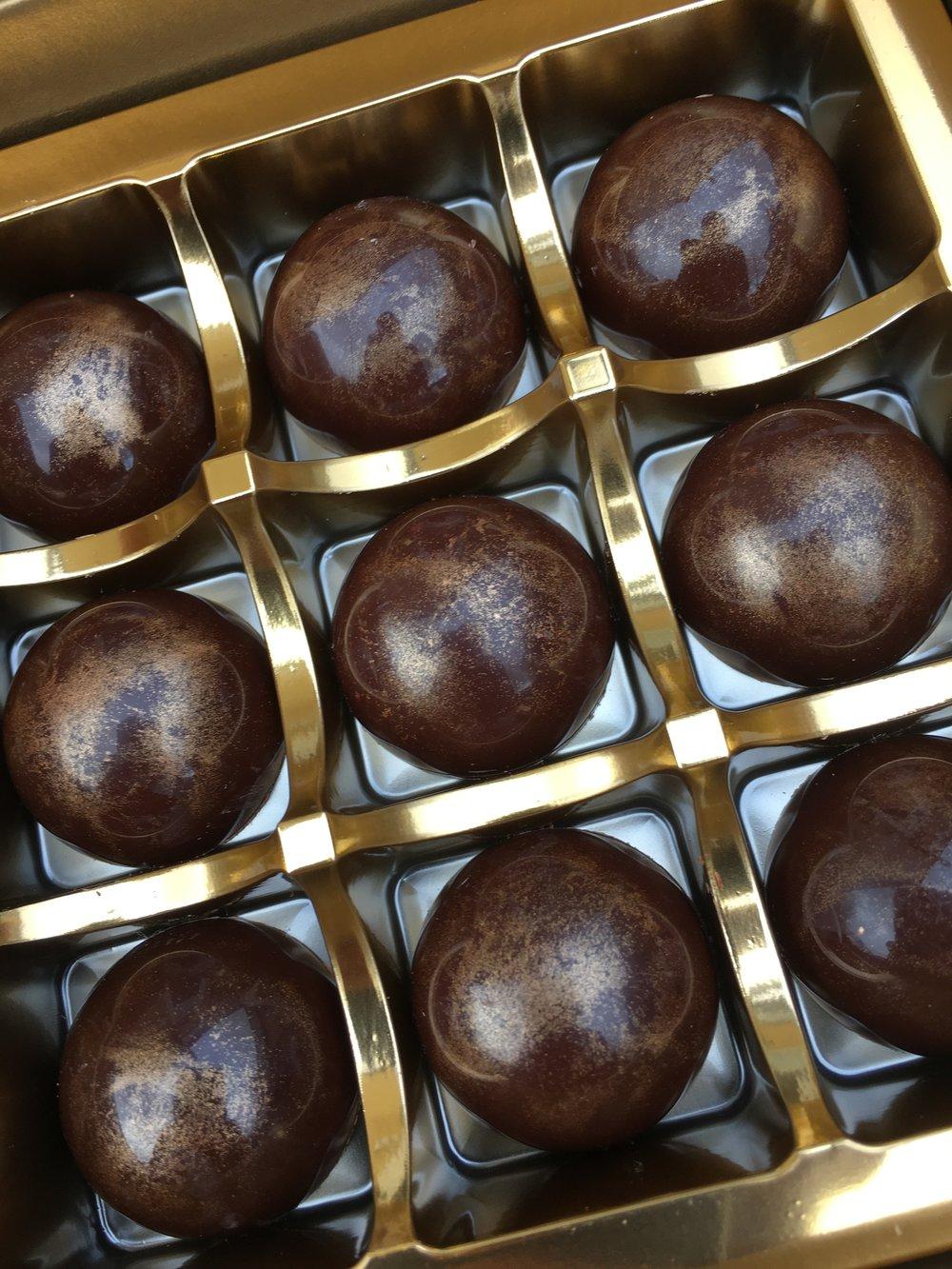 PJ taste truffles