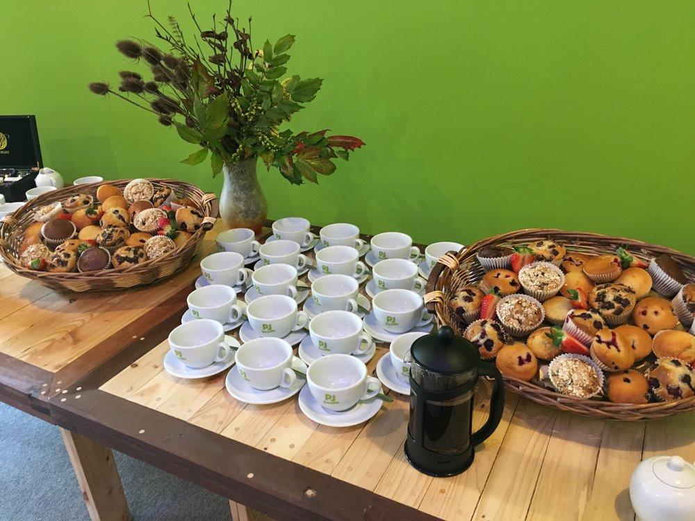 Fabulous tasting coffee roasted locally by Frazer