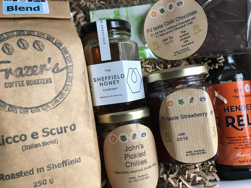 PJ taste's Sheffield Favourites Hamper