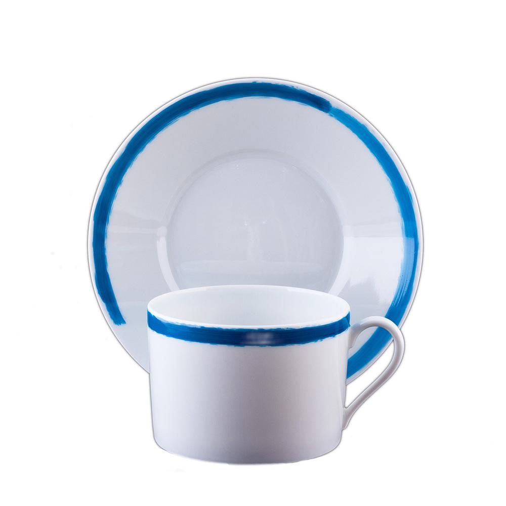 TASSE DEJEUNER & SCPE -  BREAKFAST CUP & S