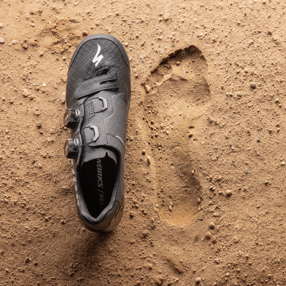 2018 - Recon   Posed with the challenge of rebranding our premiere mountain bike shoe as a product for all terrain. We focused on telling the story of the Recon's performance agnostic of any specific sport and tied it back to its roots in terrain.