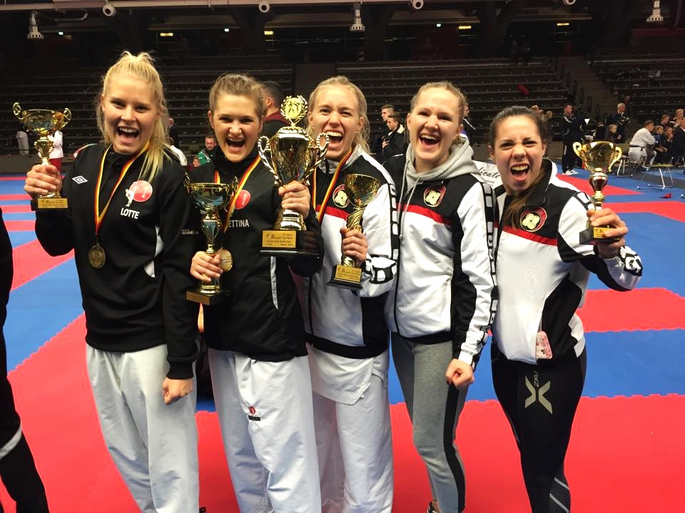 Gull individuelt og lag i  Banzai Cup, Berlin 2015-
