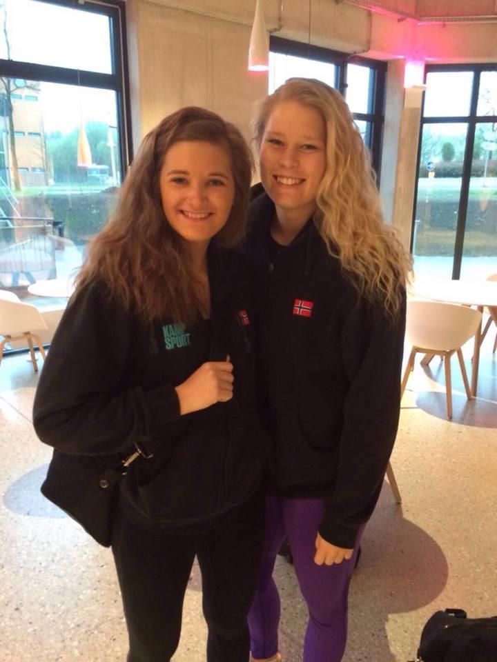 Meg og Lotte representerte Norge og Stavanger Karate Klubb i helgens stevne.