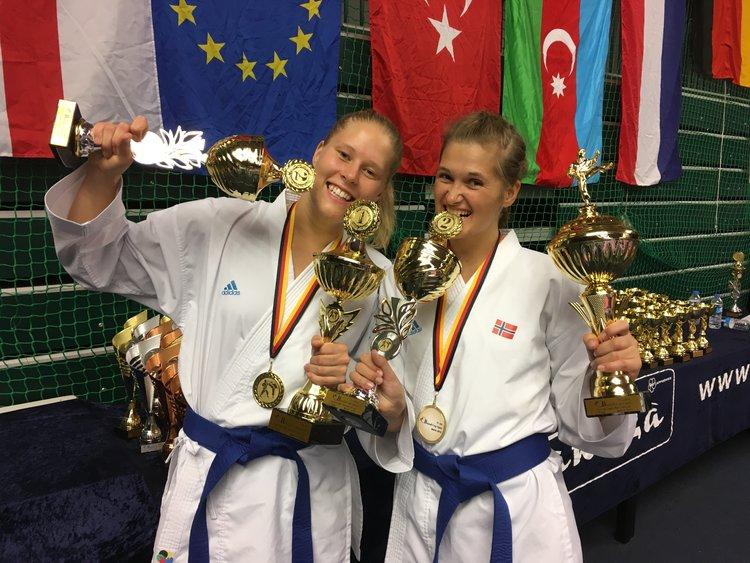 Sølv individuelt og Gull i lag i   Banzai Cup, Berlin 2016.