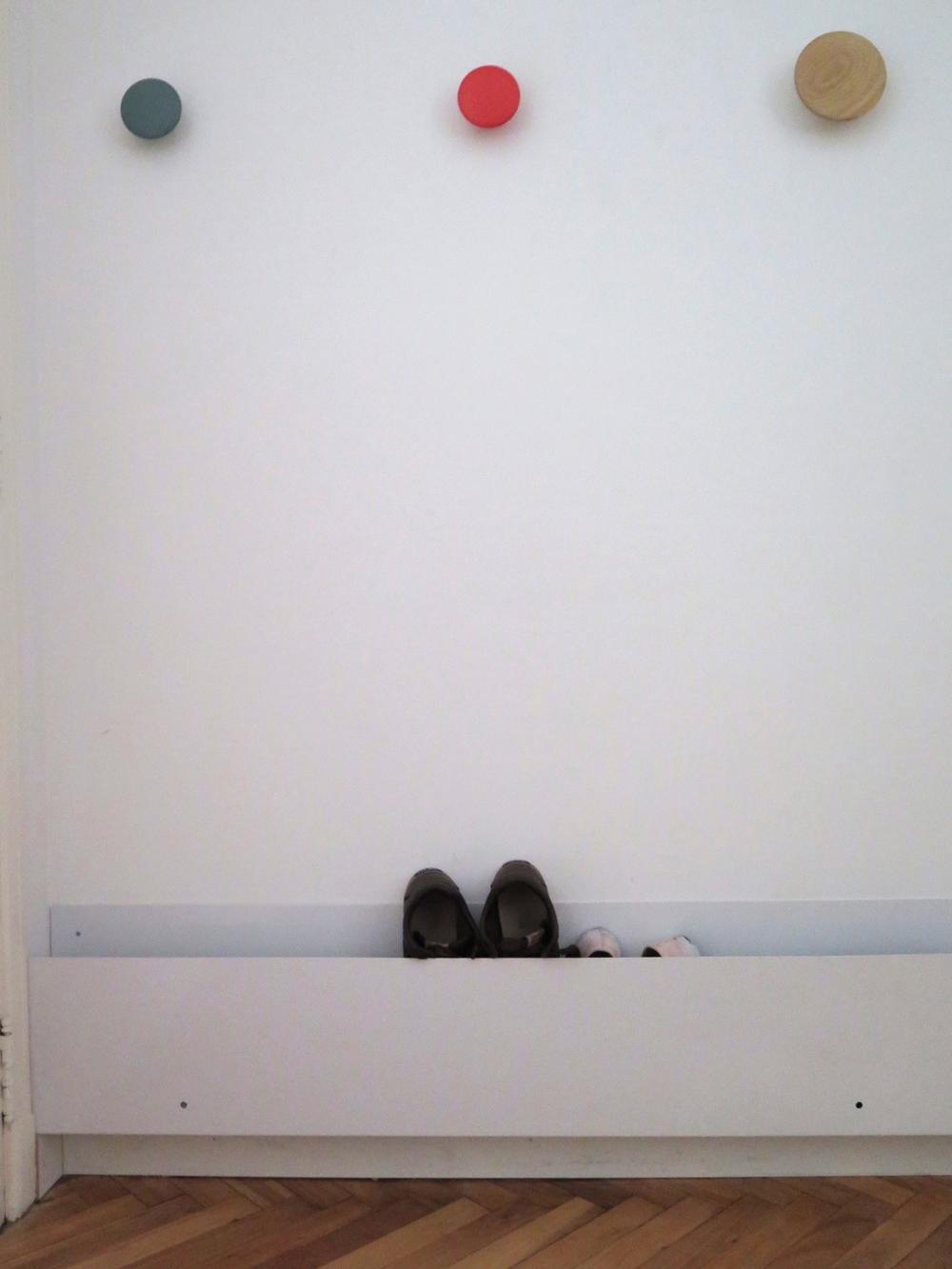 Rangement à chaussures - Mini-appartement Buenos Aires